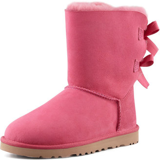 UGG Bailey Bow-Back Short Boot, Pink