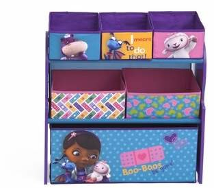 Delta Children Doc McStuffins Multi Bin Storage Organizer Delta Children