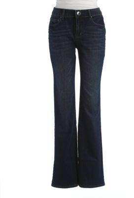 DKNY WOMENS Plus Soho Boot Leg Jeans