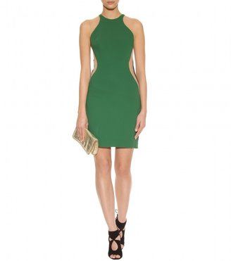 Stella McCartney MESH INSERT COLOUR-BLOCK DRESS