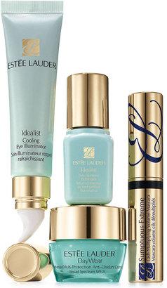 Estee Lauder Beautiful Eyes: Even Skintone Set - Includes Full-Size Eye Illuminator