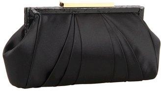 Badgley Mischka Juliette Clutch (Black) - Bags and Luggage