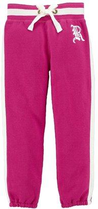Ralph Lauren 'Yummy' Fleece Sweatpants (Toddler Girls)