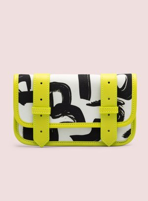 Proenza Schouler PS1 Wallet Text Print