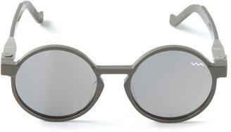 Vava 'WL000' round sunglasses $464.70 thestylecure.com