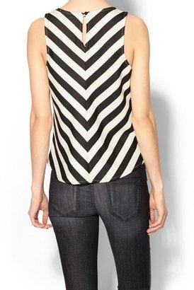 Pim + Larkin Stripe Shell Top