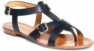 Brooks Brothers Calfskin Gladiator Sandals