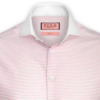 Thomas Pink Greathall Stripe Shirt - Double Cuff