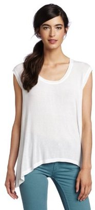 Wilt Women's Big Backless Cap Sleeve Top