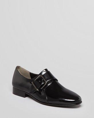 Pour La Victoire Monk Strap Loafer Flats - Caden