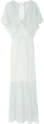 Kain Label Badu silk-chiffon maxi dress