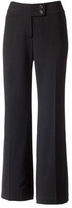 Apt. 9 modern fit straight-leg trouser pants