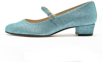 American Apparel Mary Jane Pump Glitter Shoe