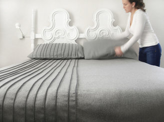 Wallter Slim Wool Bedspread King