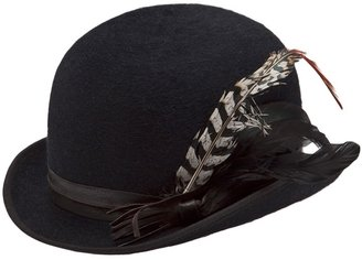 Möve feathered bowler hat