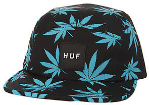 HUF The Plantlife Box Logo 5 Panel