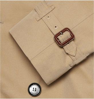 Burberry Cotton-Gabardine Trench Coat