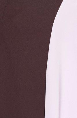 3.1 Phillip Lim 'Horizon' Wool & Crêpe de Chine Skirt