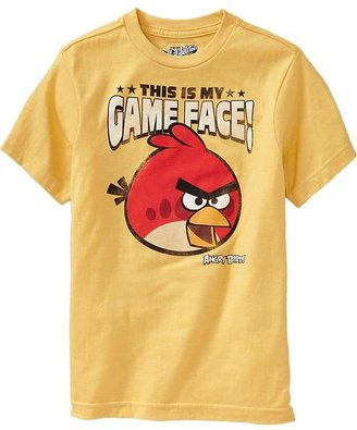 """Old Navy Boys Angry Birds™ """"This Is My Game Face!"""" Tees"""