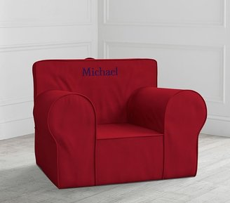 Pottery Barn Kids Oversized Red Anywhere Chair