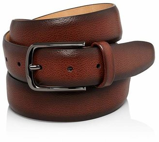 Bloomingdale's The Men's Store at The Men's's Store at Men's Park Ave Leather Belt - 100% Exclusive