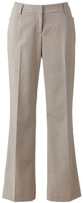 Apt. 9 curvy fit straight-leg trouser pants