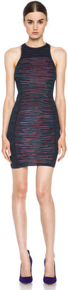 M Missoni Patchwork Neoprene Dress in Pink