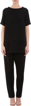 Alexander Wang Stitched-pleat Trousers