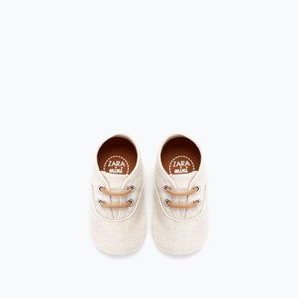 Zara Fabric Boot