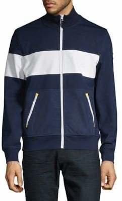 Tommy Hilfiger Stripe Full Zip Sweater
