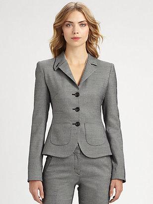 Armani Collezioni Contrast Weave Jacket