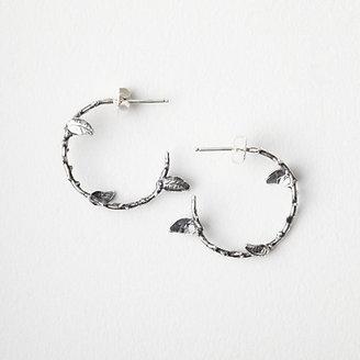 Pamela Love thorn hoop earrings