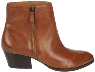 Franco Sarto Quiet Leather Ankle Boots