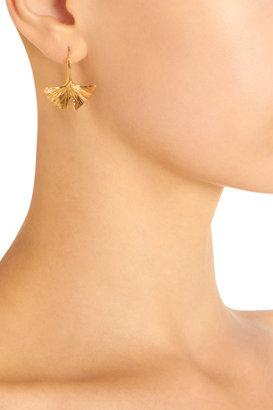 Aurelie Bidermann Gold Tangerine Earrings