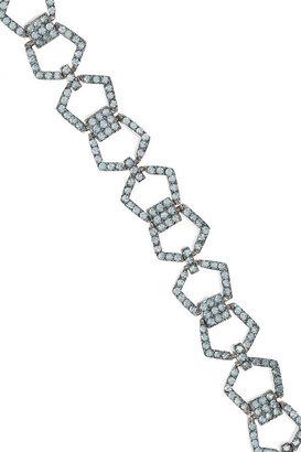 Eddie Borgo Silver-plated cubic zirconia necklace