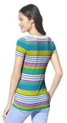 Mossimo Juniors V Neck Tee - Assorted Colors