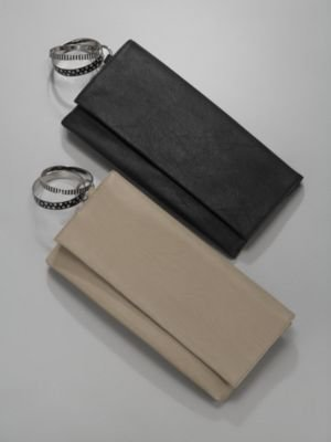 New York & Co. Flap-Front Bangle Clutch