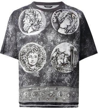Dolce & Gabbana Roman coin print t-shirt