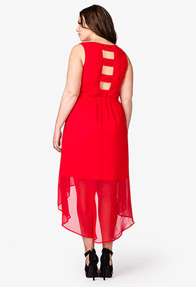 Forever 21 Cutout High-Low Dress