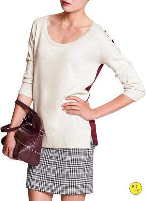 Banana Republic Factory Colorblock Sweater