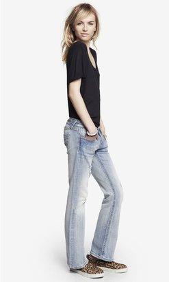 Rerock Super Thick Stitch Boot Cut Jean