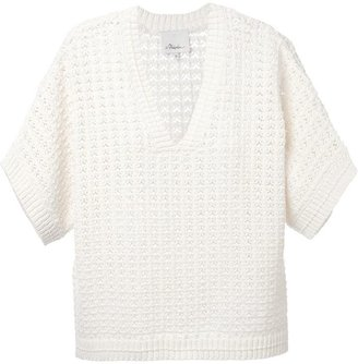 3.1 Phillip Lim chunky short sleeved sweater