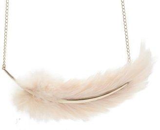 Nina Ricci Feather Necklace