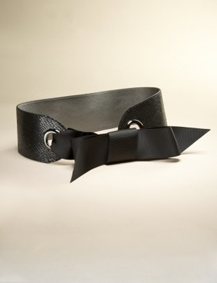 The Limited Bow Front Corset Belt