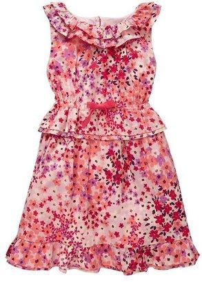 Gap Ruffle peplum dress