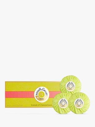 Roger & Gallet Fleur D'Osmanthus Perfumed Soap Gift Set, 3 x 100g