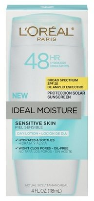 L'Oreal® Paris Ideal Moisture Day Lotion For Sensitive Skin SPF 25 4 fl oz