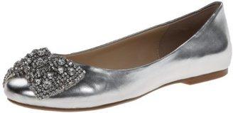 Blue by Betsey Johnson Women's SB-Ever Ballet Flat,Silver Metallic,6.5 M US $99.95 thestylecure.com