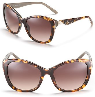 Just Cavalli Cat Eye Sunglasses with Studs