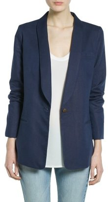 MANGO Outlet Cotton Linen-Blend Blazer